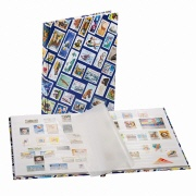 goldbuch Briefmarkenalbum Stamps blau