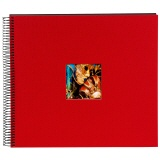 goldbuch Spiralalbum Bella Vista rot gross