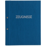 Zeugnismappe Colours blau