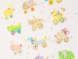 Babyalbum Animals on Wheels