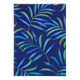 Turnowsky Notizbuch Tropical blue