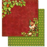 URSUS� Scrapbooking Papier Happy Christmas 213