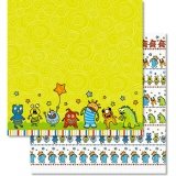 URSUS� Scrapbooking Papier Monster 192