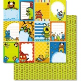 URSUS� Scrapbooking Papier Monster 196