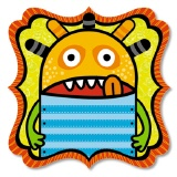 URSUS� Scrapbooking Papier Monster 198