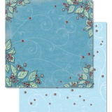 URSUS� Scrapbooking Papier Winter 64