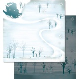 URSUS� Scrapbooking Papier Winter 65