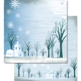 URSUS� Scrapbooking Papier Winter 66